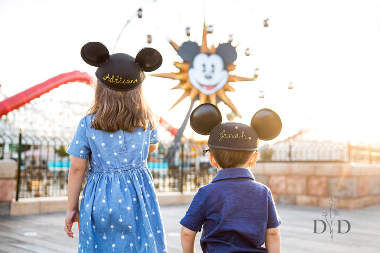 Disneyland Family Photography, California Adventures | {B} Family
