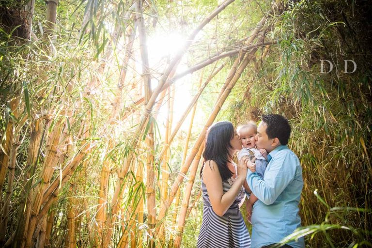 {C} Family Photos LA Arboretum and Botanic Garden