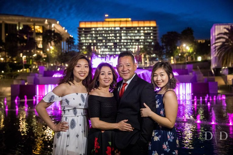 {L} Family Photos Los Angeles | Downtown, Walt Disney Concert Hall