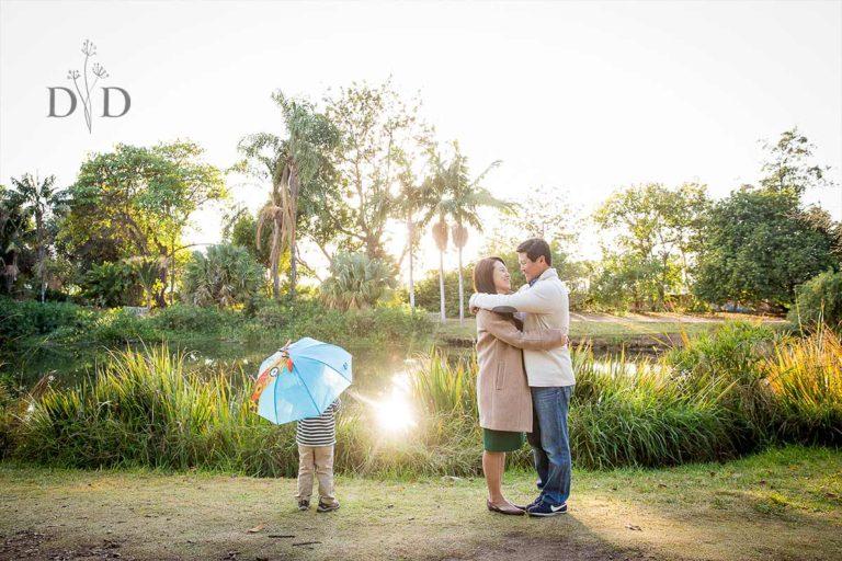 Cal State Fullerton Arboretum Family Photos {P}