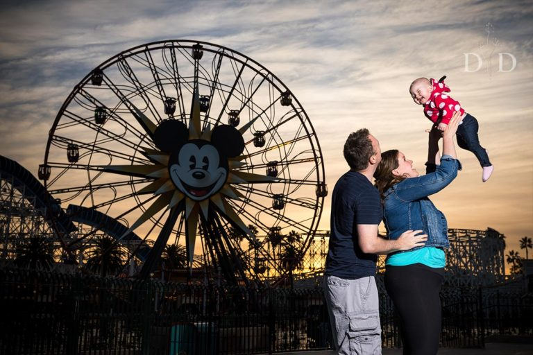 California Adventures + Disneyland Family Photos | {W}