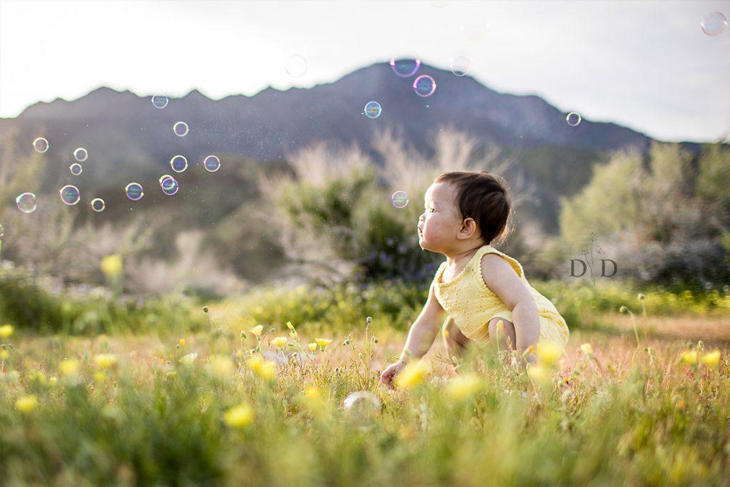 Bubbles in the Desert