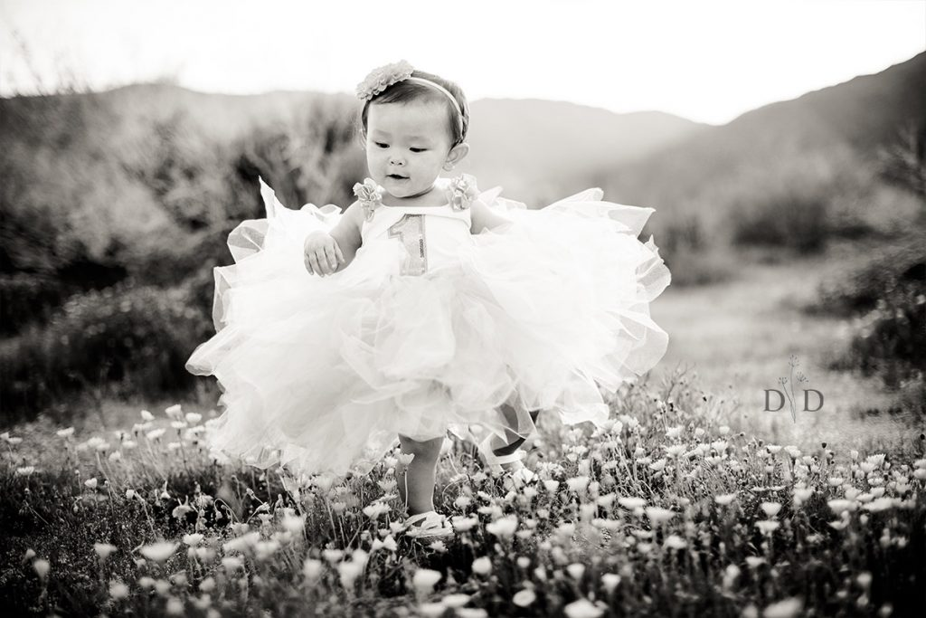Baby Girl Photo with Tutu