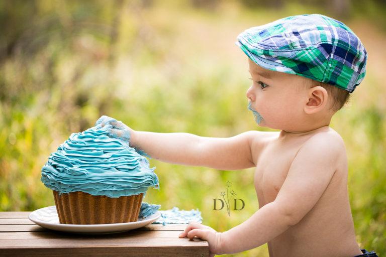 {E} Cake Smash Photography, First Birthday Photos