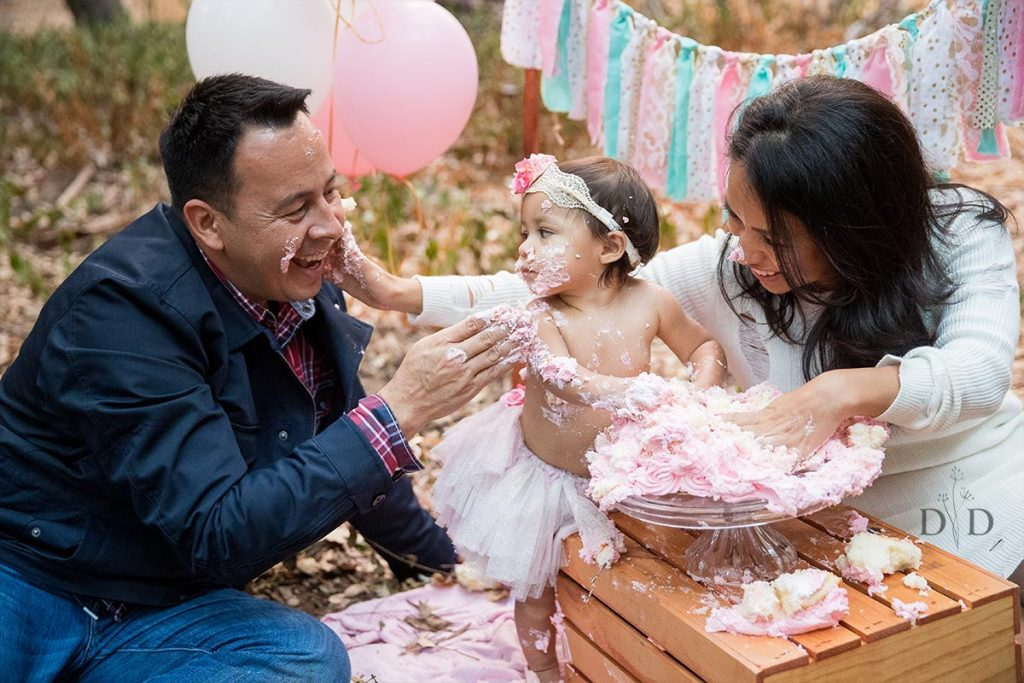 Cake Smash with Parents