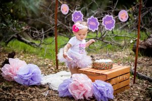 {Hayden} First Birthday Photos & Cake Smash