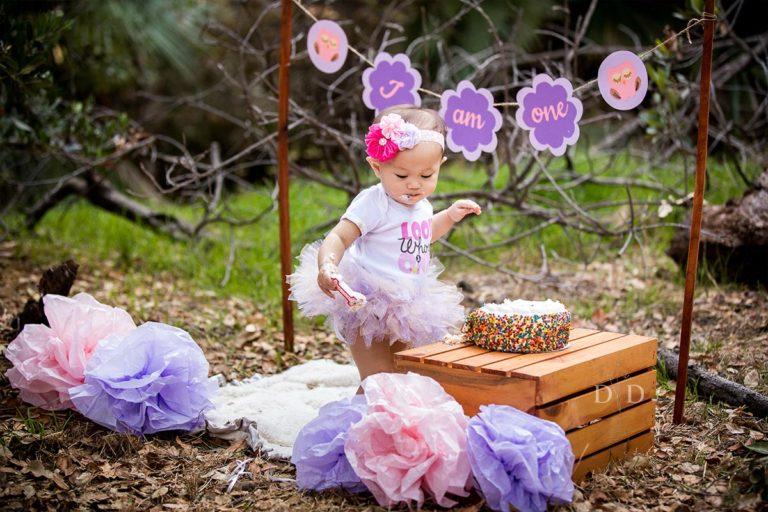 {Hayden} First Birthday Photos & Cake Smash