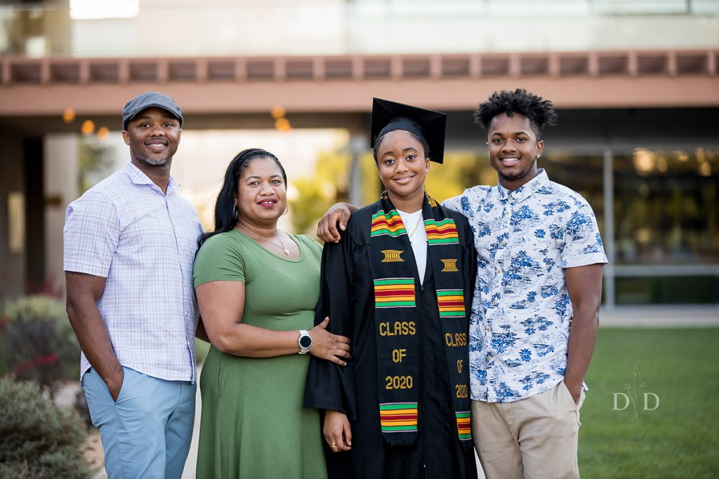 Claremont Colleges Graduation Family Photo