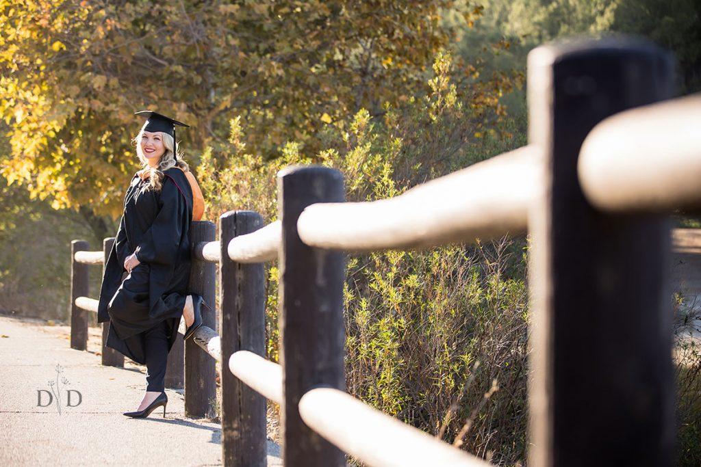 Nursing Grad Photos in Bonelli Park