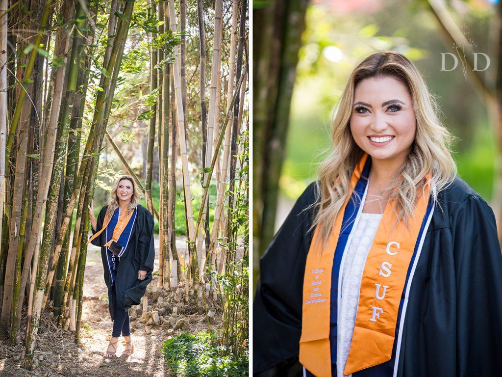 CSU Fullerton Arboretum Graduation Photography