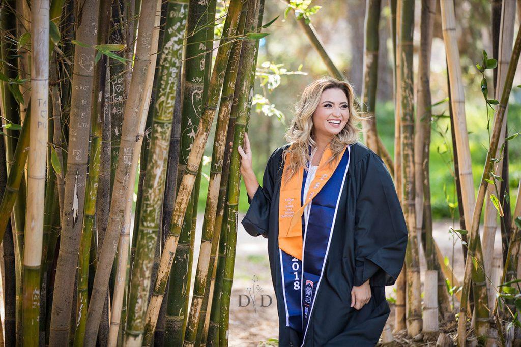 Cal State Fullerton Arboretum Graduation Photography