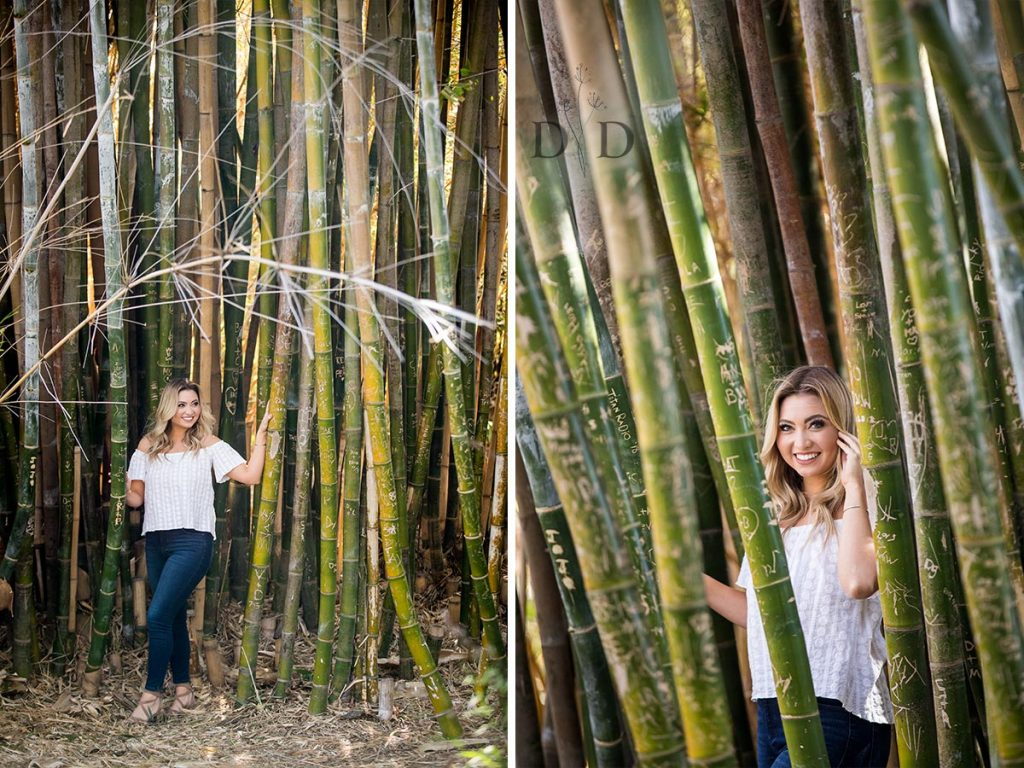 Grad Portraits with a Bamboo Forest