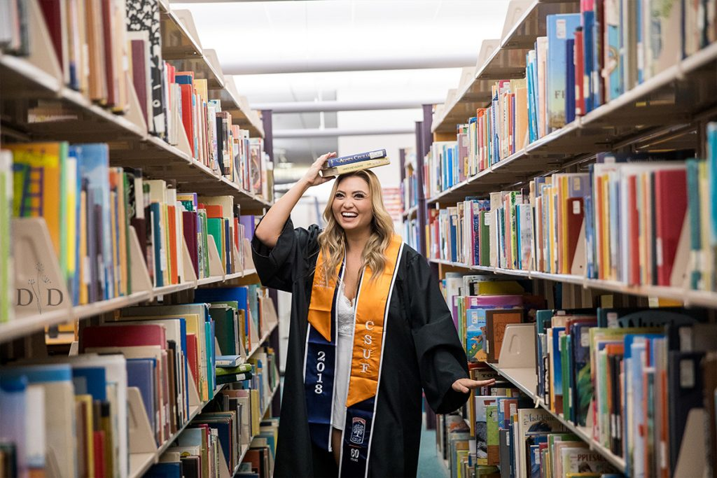 CSUF Library Grad Photos