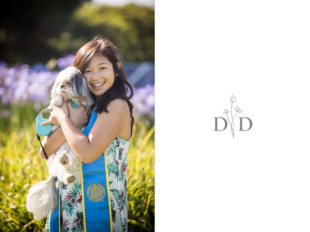 UCSB Grad Photos with Dog