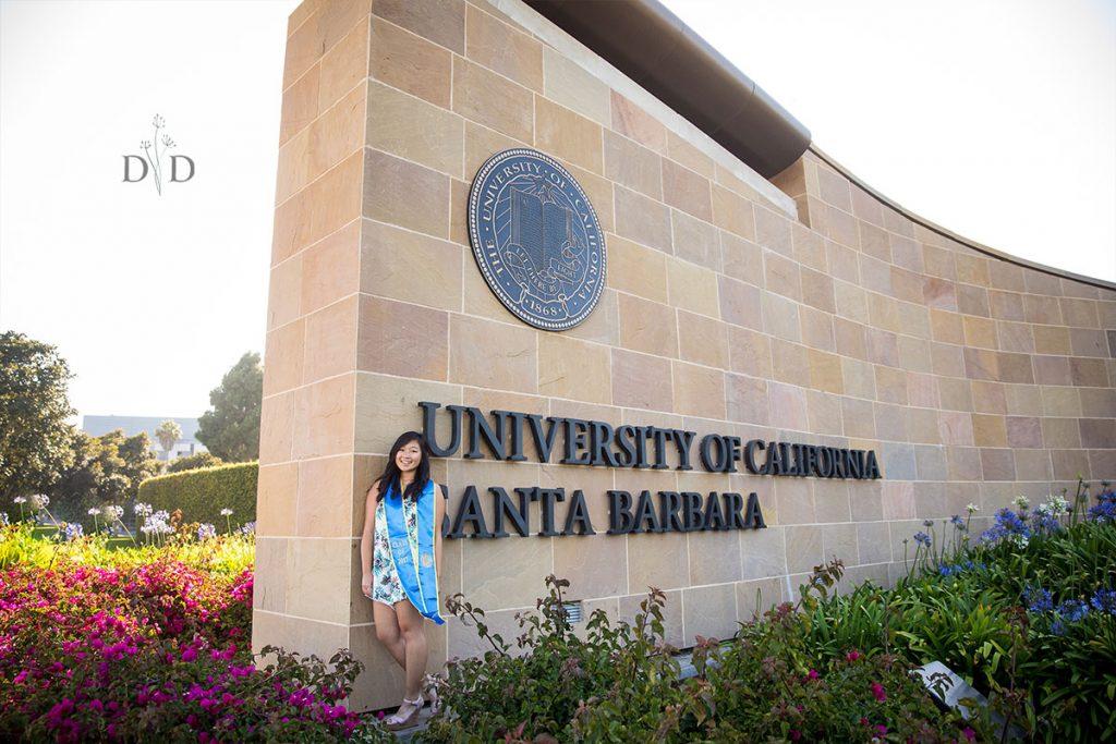 University of California Santa Barbara Front Entrance