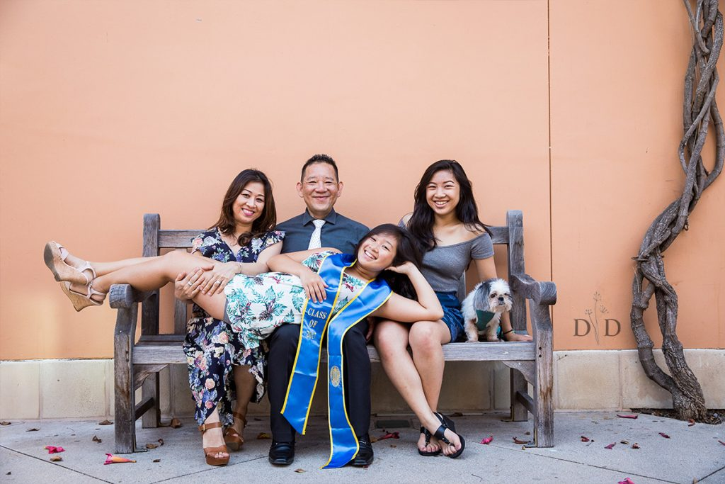 UCSB Grad Photos with Family