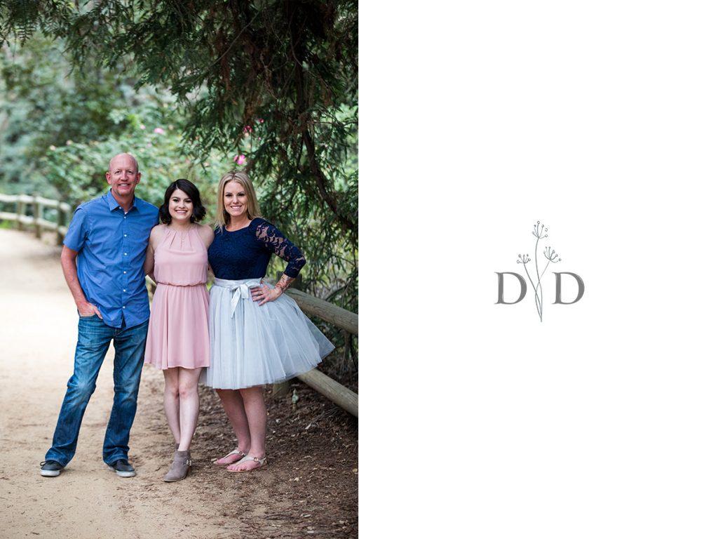 Family Photo California Botanical Garden