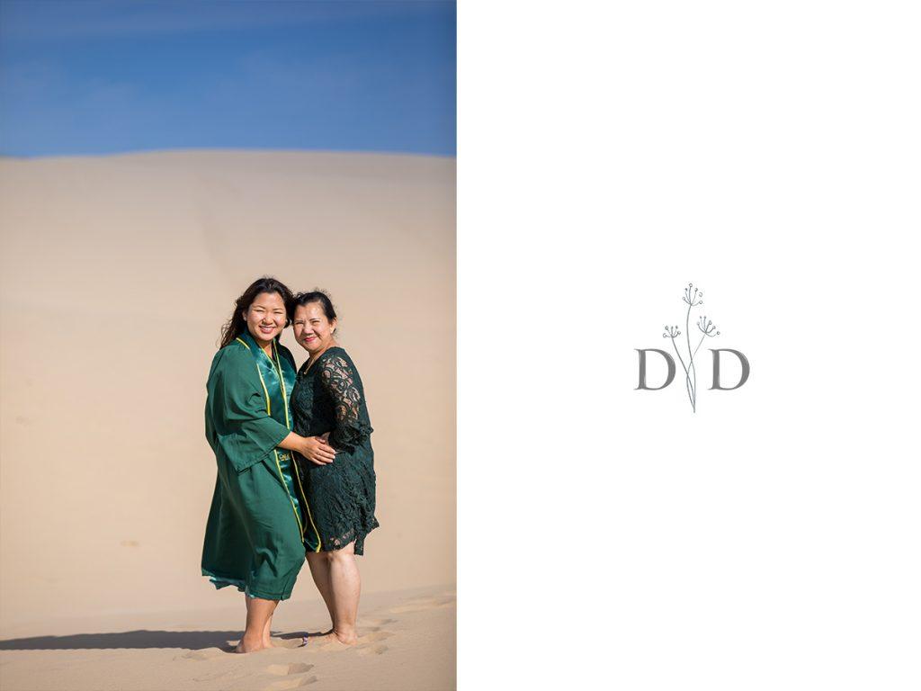 Sand Dunes Family Photo