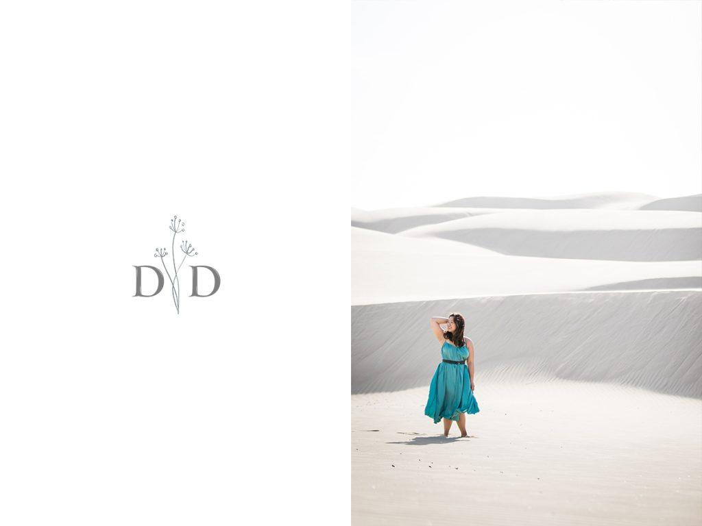 Sand Dunes Portrait
