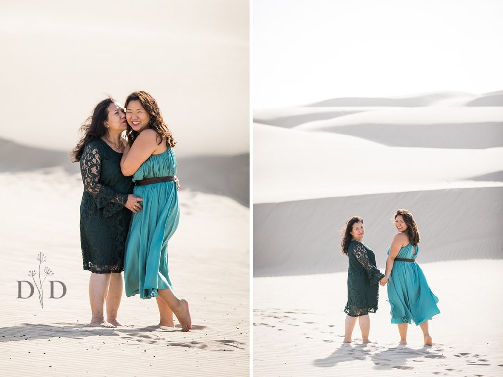 Sand Dunes Family Portrait