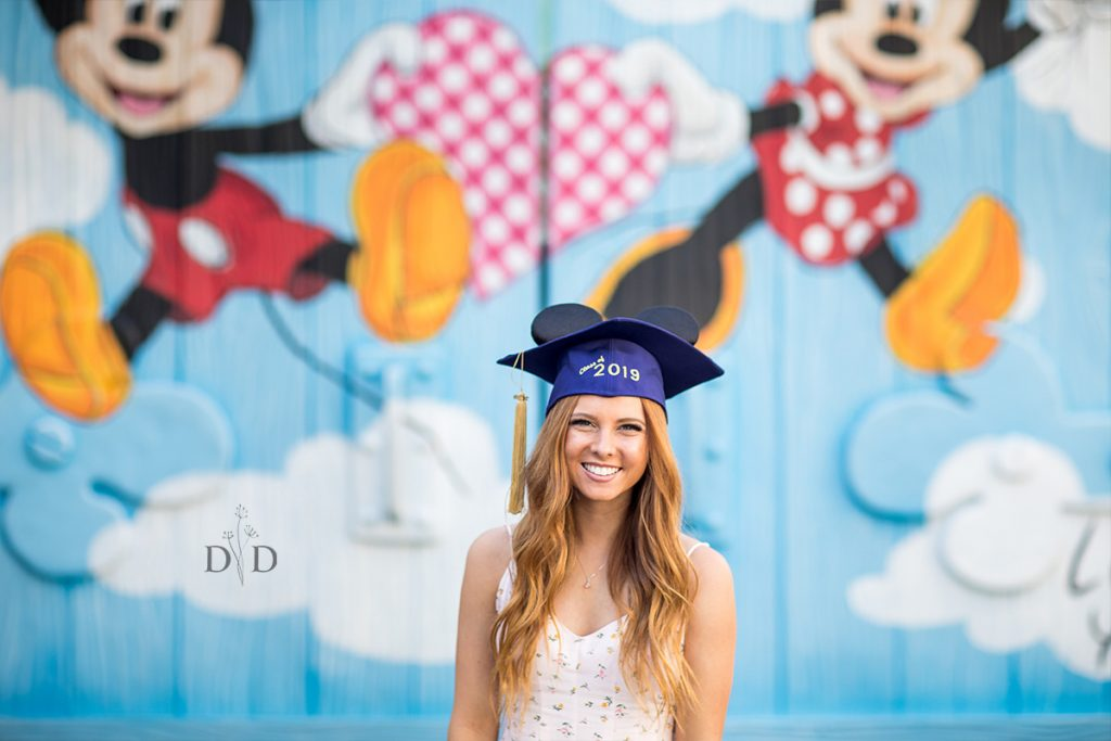 Disneyland Grad Photos