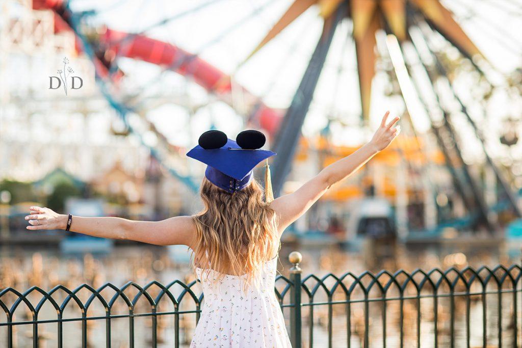Disneyland Graduation Photography