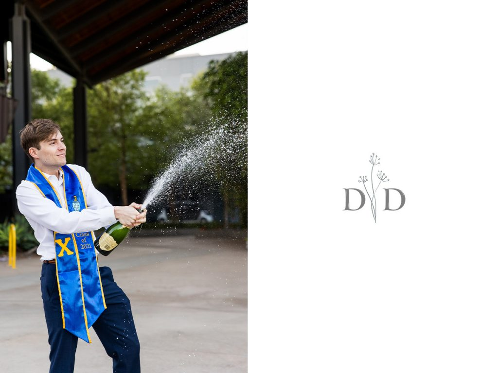 Grad Photography Champagne