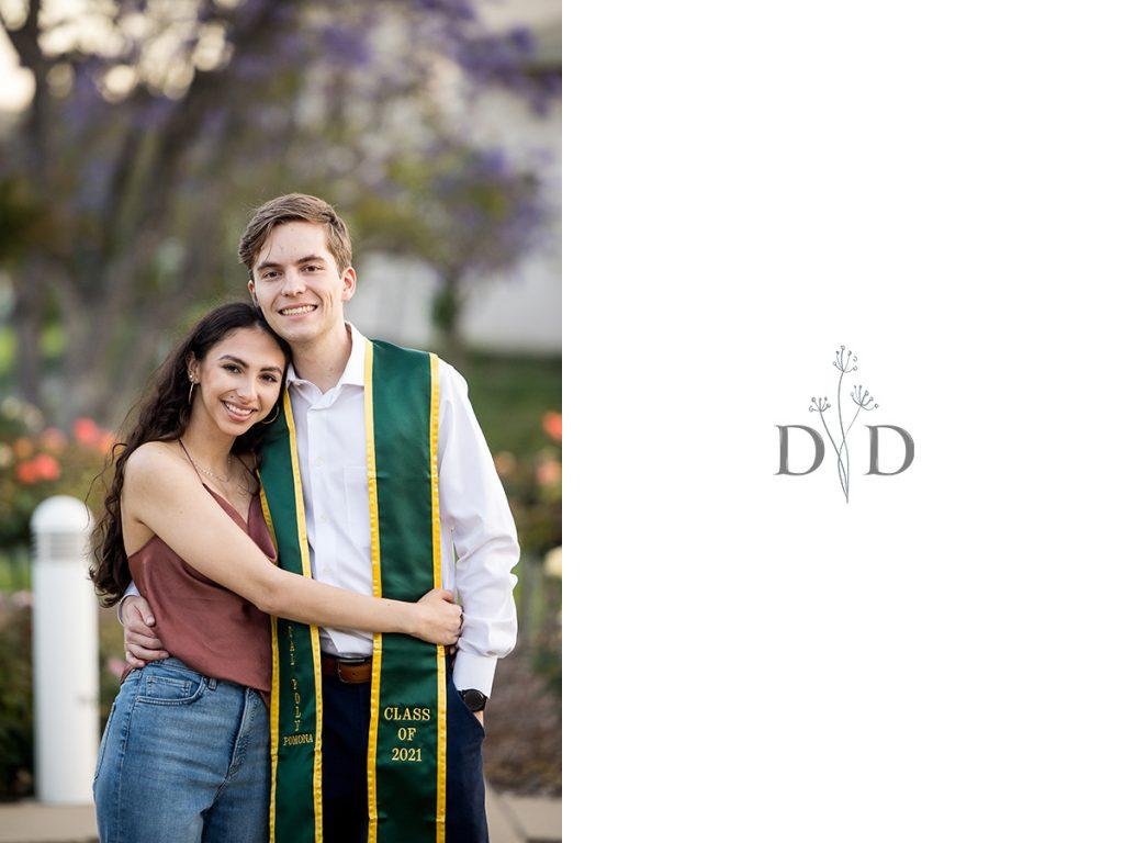 Cal Poly Pomona Graduation Couple Photos