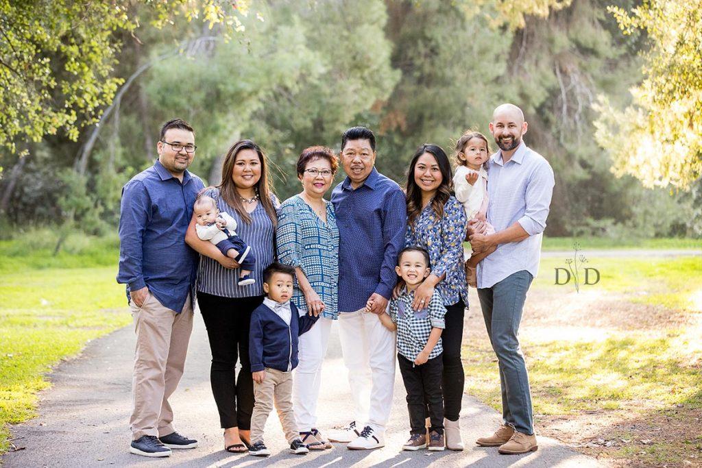 Yorba Linda Large Family Photo