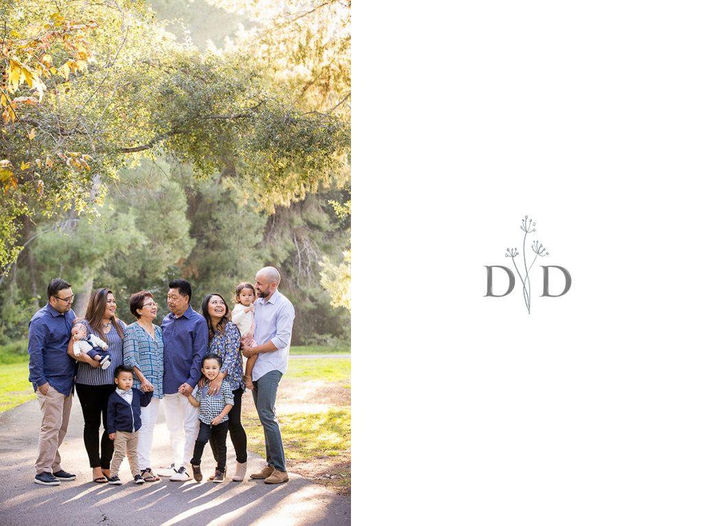 Yorba Linda Large Family Photography