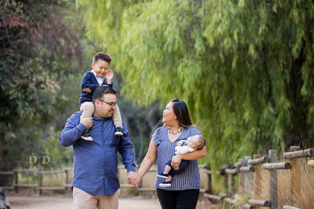 Family Photo in Yorba Linda