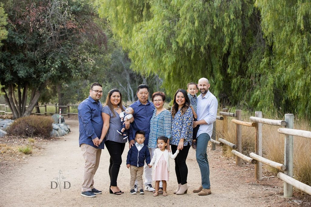 Orange County Large Family Photos