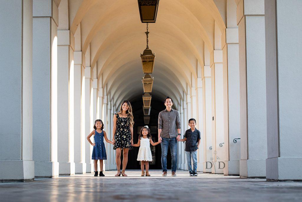 Family Photos Pasadena City Hall
