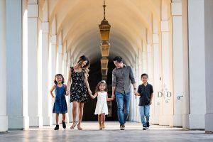 {G} Family Photos @ Pasadena City Hall